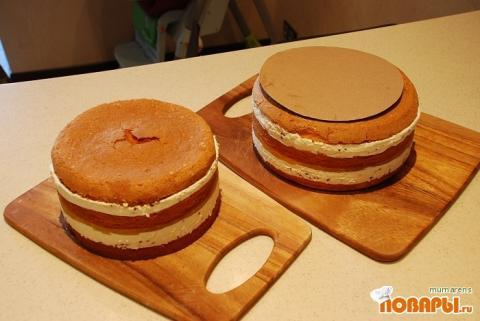 как делать многоярусные торты