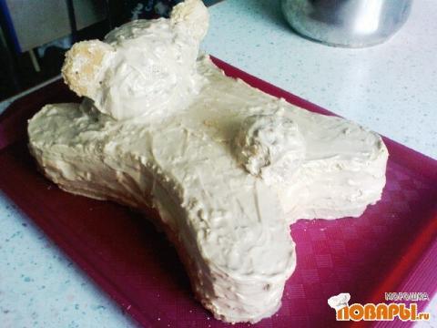 Торт мишка рецепт с фото пошагово
