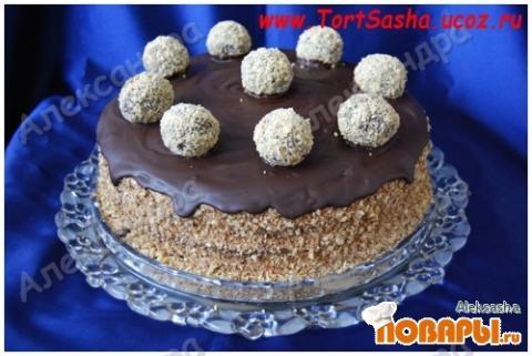Фото торта с шугарвелем