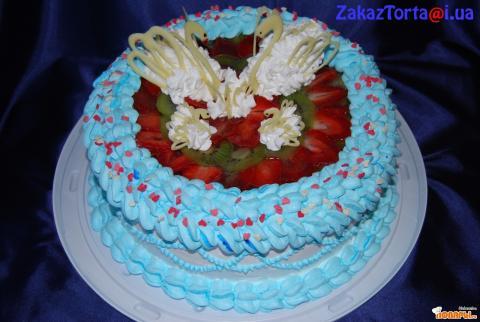 Торт на годовщину свадьбы вес 3 5кг