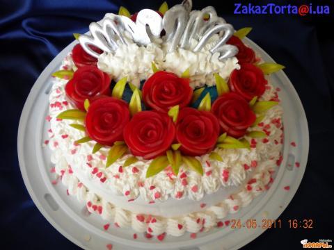 Торт для моих любимых родителей 36 лет