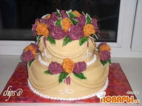 Фото тортов из мастики на юбилей
