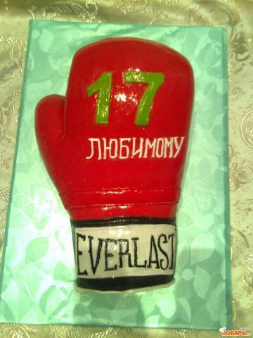 Торт в виде боксерской перчатки своими руками 91