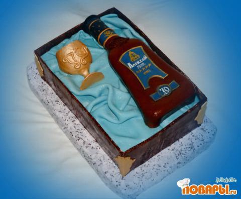 Торт на день рождения дедушки своими руками 100