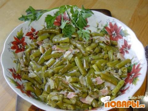 Блюдо из молодой фасоли рецепты