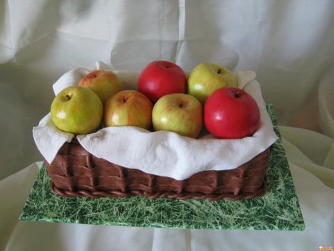 Как сделать яблочко из мастики