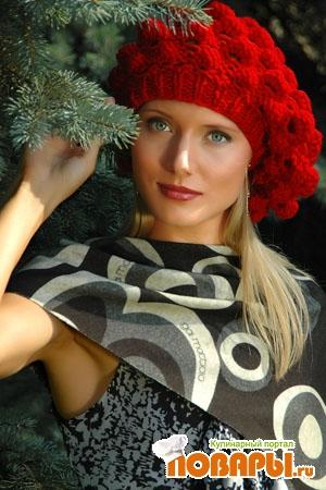 Женская шляпка крючком схема фото 950