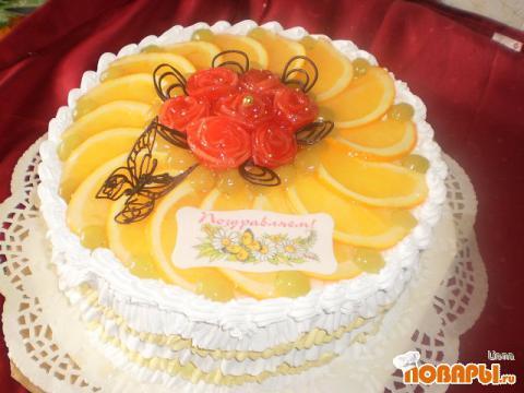 Как сделать крем на торт из сливок