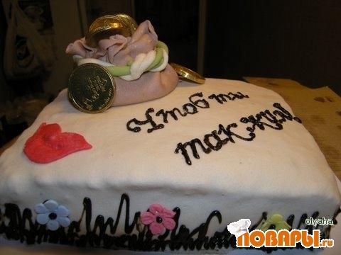 Фото тортов на 25 летие мужу
