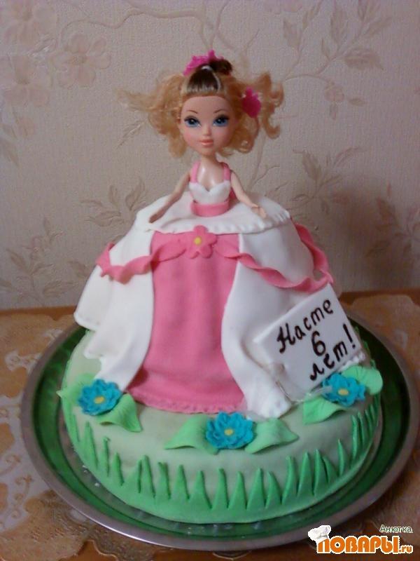 Торт кукла фото рецепт