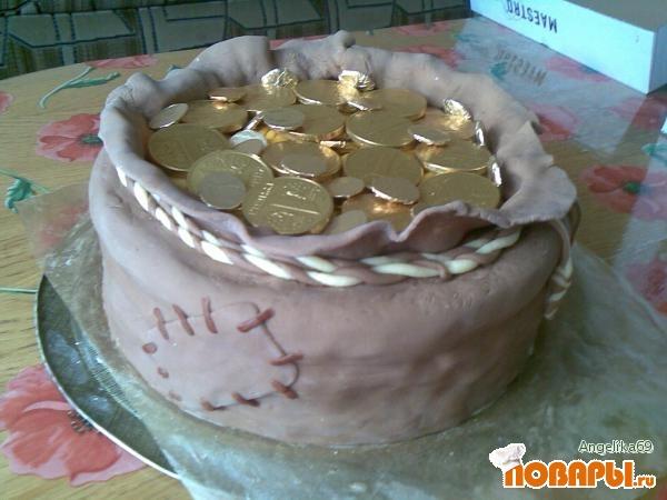 Домашний торт мастикой рецепт фото