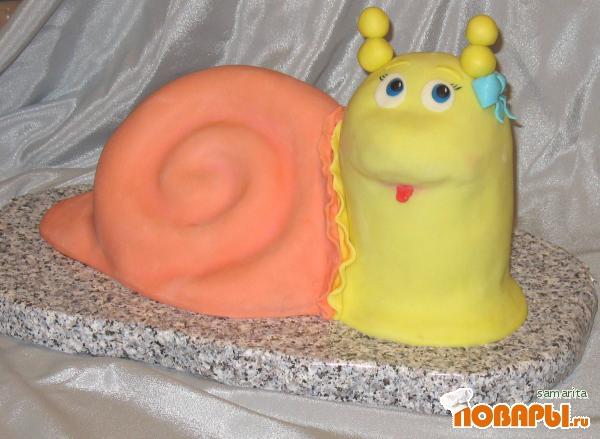 Торт улитка с фото