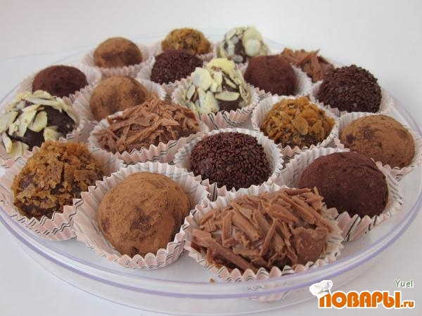 Шоколадные конфеты своими руками в микроволновке: 2 рецепта
