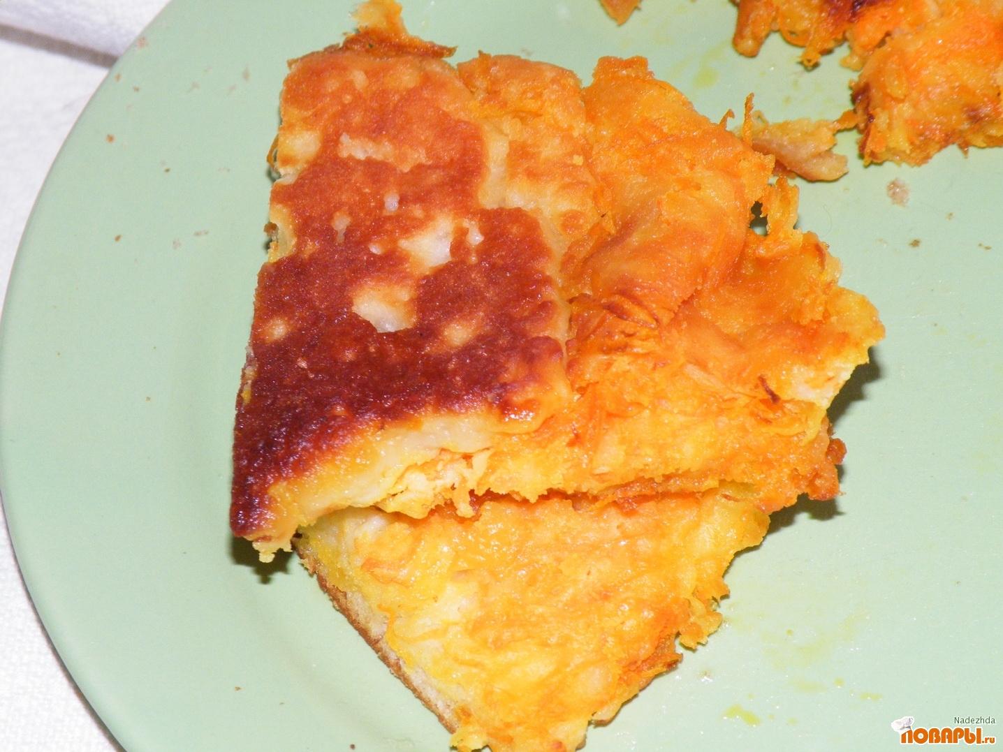 Рецепт Запеканка с морковкой