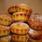 Ананасово-яблочные маффины