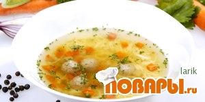 Рецепт Ирландский суп с фрикадельками