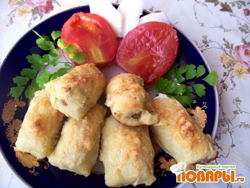 Рецепт Картофельные ньеки с начинкой