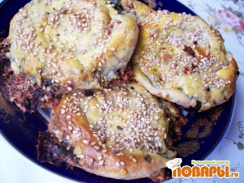 Рецепт Весенние лепешки в китайском стиле
