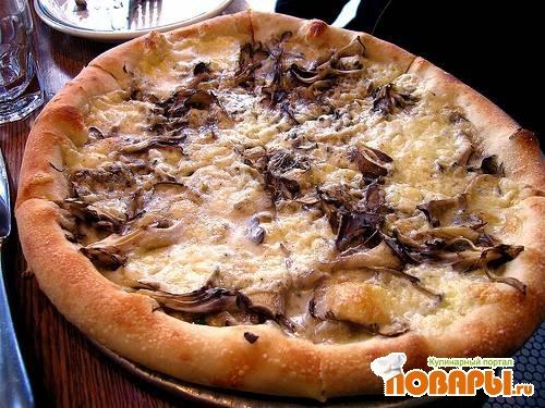 Рецепт Пицца с креветками и острым перцем