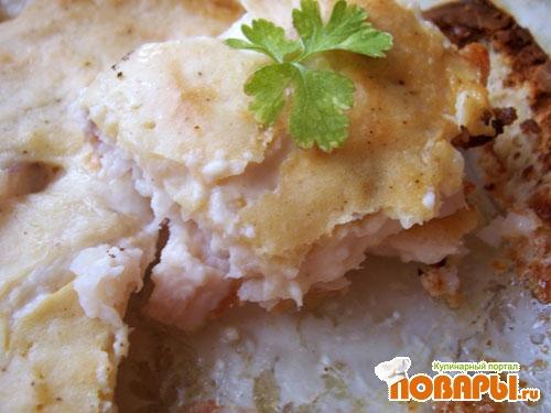 Рецепт Рыба с хреном