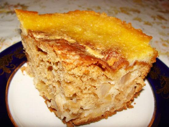 Рецепт Пирог яблочный французский