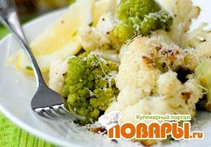 Рецепт Тушеная цветная капуста (Cavolfiore stufato)