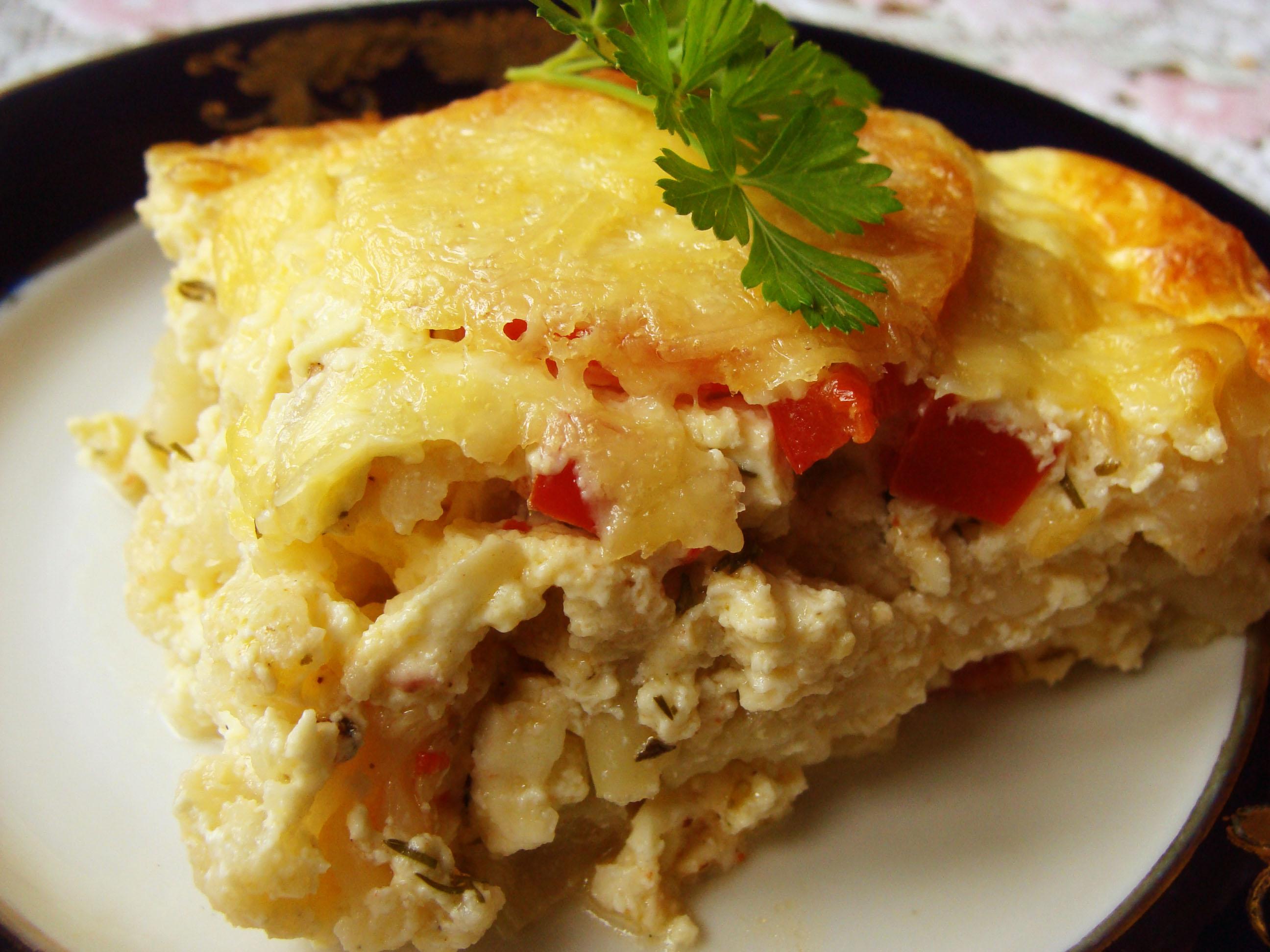 Рецепт Зпеканка из брынзы и цветной капусты