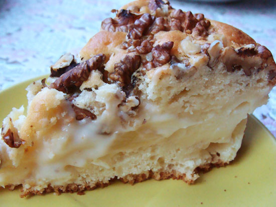 Рецепт Пудинговый пирог с ананасами