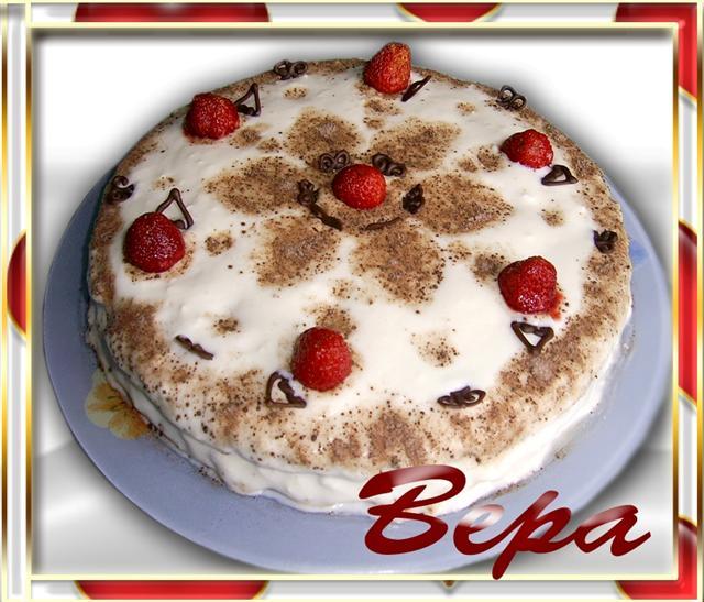 Рецепт Черемуховый торт.