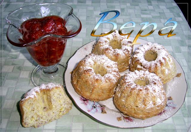 Рецепт Кексы с кокосовой стружкой.