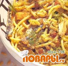Рецепт Букатини с сардинами
