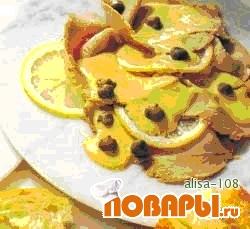 Рецепт Телятина под соусом из тунца