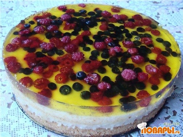 рецепт торта с фотом летний