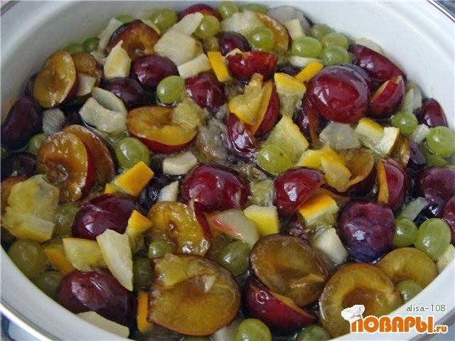 Рецепт Варенье фруктовое