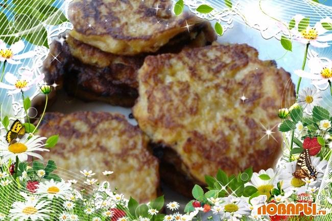 Рецепт Тыквенно-яблочные блинчики