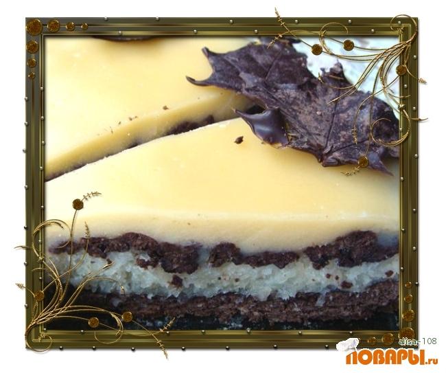 Рецепт Шоколадно-кокосовый пирог