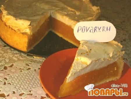 Рецепт Тыквенный пирог со вкусом цитрусовых