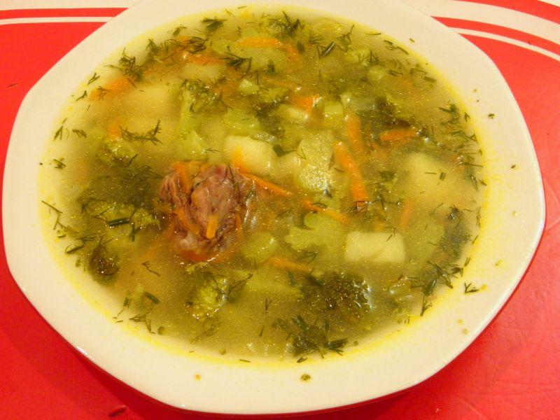 Рецепт Суп с капустой брокколи