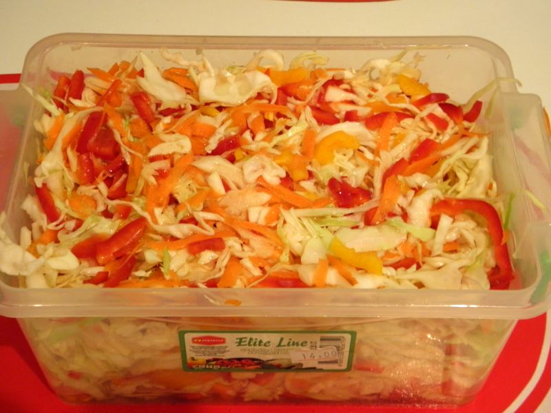 Рецепт Салат из капусты в маринаде