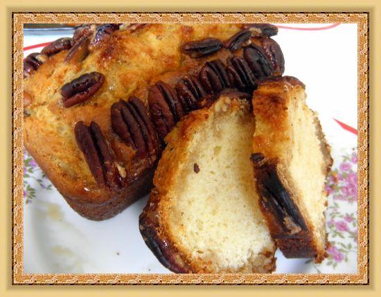 Рецепт Кекс с орехами пекан и кленовым сиропом