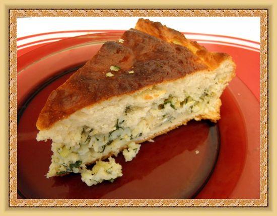 Рецепт Кулебяка с рисом и рыбой
