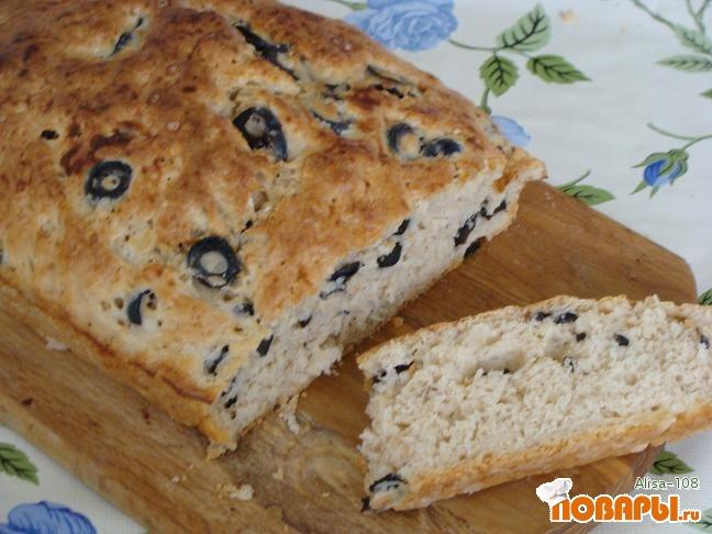 Рецепт Хлеб на скорую руку