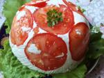 Шарлота с помидорами