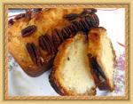 Кекс с орехами пекан и кленовым сиропом