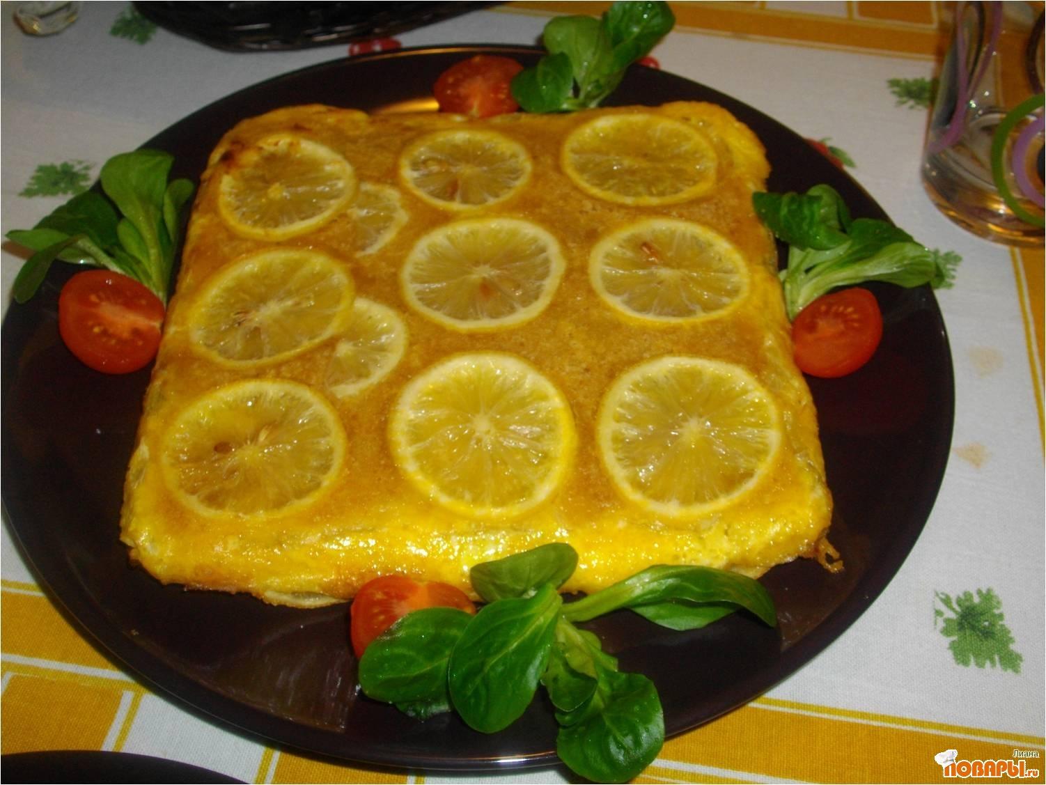 Рецепт Пармиджана ди аличи. (Итальянский пирог с рыбой и пармезаном).