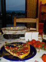 Пирог с ароматом трав и козьим сыром....неповторимое сочетание...