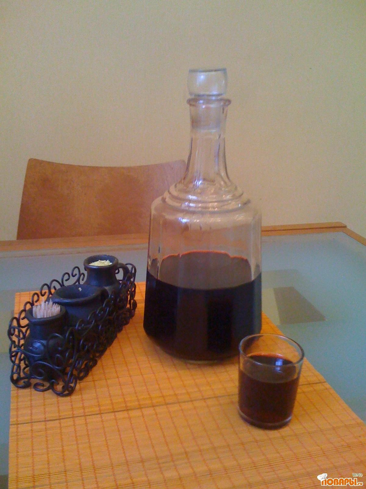 Рецепт вишнево-медовая наливка