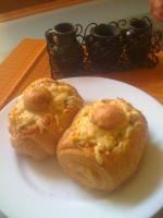 утренние фаршированные булочки