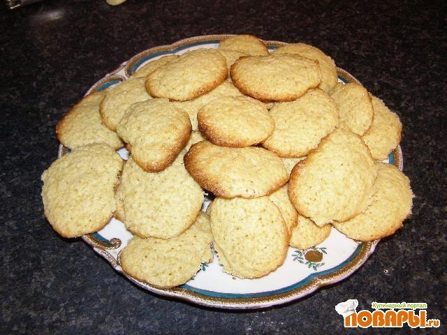 Рецепт Лимонное печенье с глазурью