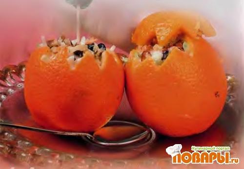 Рецепт Апельсины фаршированные